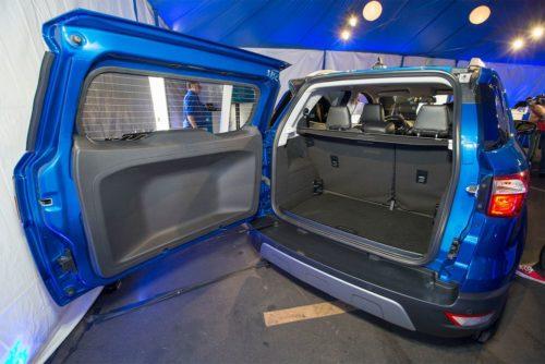 Багажное отделение кроссовера Форд Экоспорт 2018 модельного года