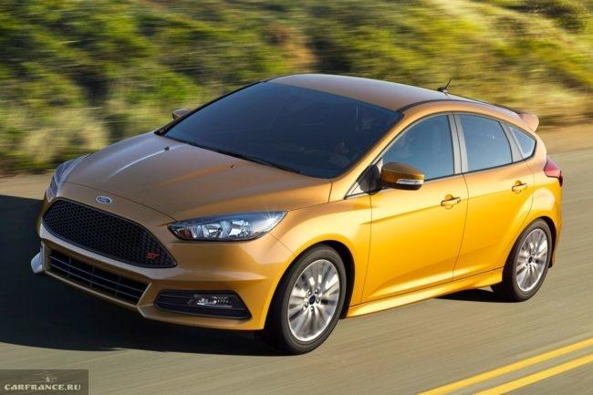 Внешний облик новой версии Форд Фокус 2018 модельного года