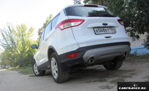Форд Куга клиренс сзади