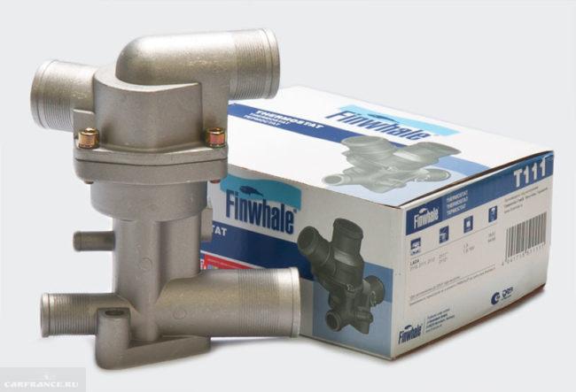 Термостат для инжекторного двигателя ВАЗ-2110 от компании Finwhale