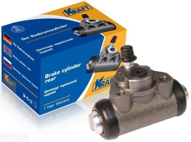 Новый тормозной цилиндр Kraft для заднего колеса автомобиля ВАЗ-2110
