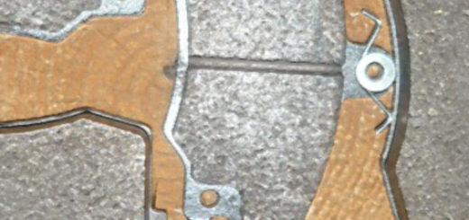 Передние тормозные колодки на ВАЗ-2110 4 штуки