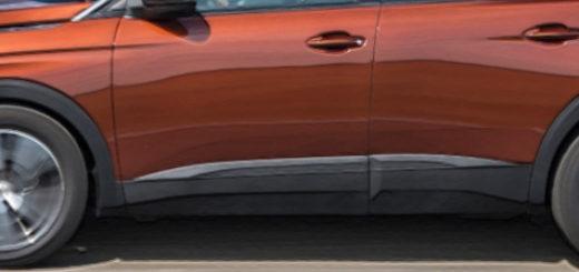 Пежо 3008 в новом кузове вид сбоку