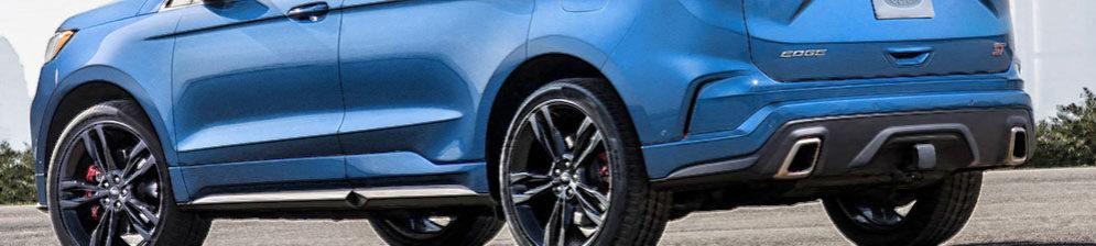 Форд Эйдж 2018 модельного года в синем кузове сбоку