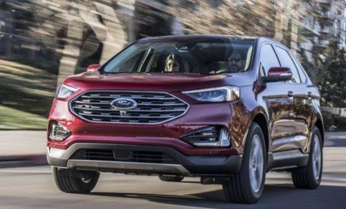 Вид спереди обновленного Форд Эйдж 2018 модельного года