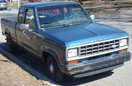 Фото первой модели Форд Рейнджер, выпускаемого до 1988 года включительно