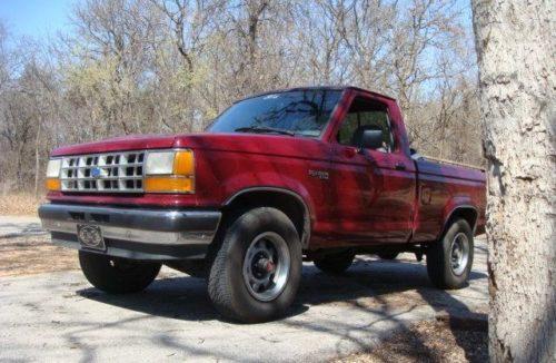 Внешний вид пикапа Форд Рейнждер до 1992 года