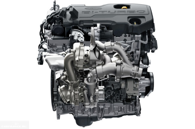 Фото дизельного двигателя, устанавливаемого в Форд Рейнждер Раптор 2018 года
