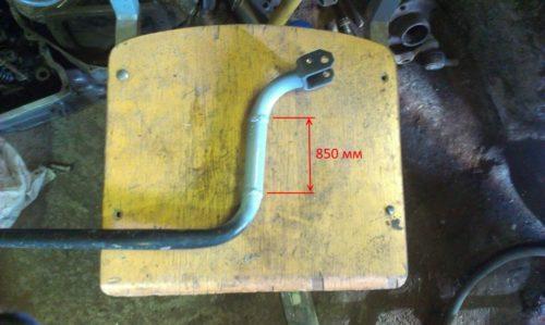 Усовершенствованная кулиса ВАЗ-2110, показана трубка-удлинитель
