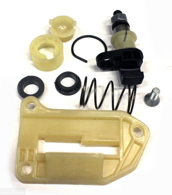 Ремонтный комплект для замены изношенных деталей рычага коробки передач и кулисы в ВАЗ-2110
