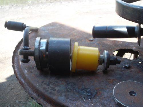 Самодельный съемник для замены задних сайлентблоков на ВАЗ-2110
