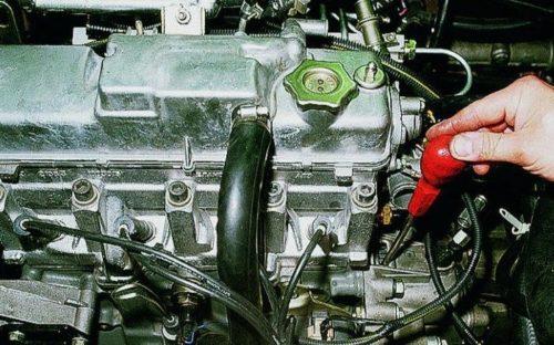 Фиксация коленчатого вала от проворачивания в ВАЗ-2110