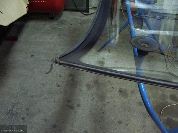 Установка нового уплотнителя лобового стекла на ВАЗ-2110