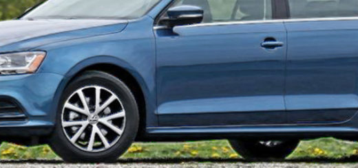 Фольксваген Джетта в синем кузове новый модельный ряд 2018 года