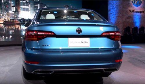 Задние светодиодные фонари автомобиля Фольксваген Джетта 2018 года производства