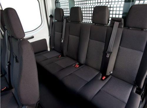 Задние сиденья для пассажиров в Форд Транзит 2018 модельного года