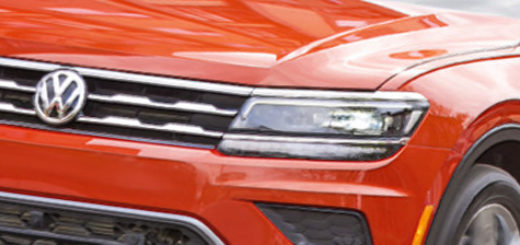 Volkswagen Tiguan оранжевый цвет 2018 модельного года