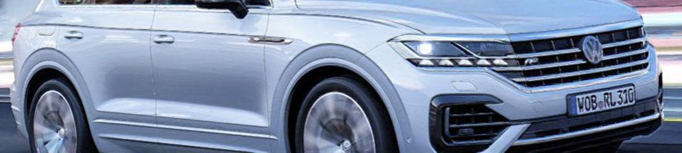 Туарег в 2018 модельном кузове серебристый цвет