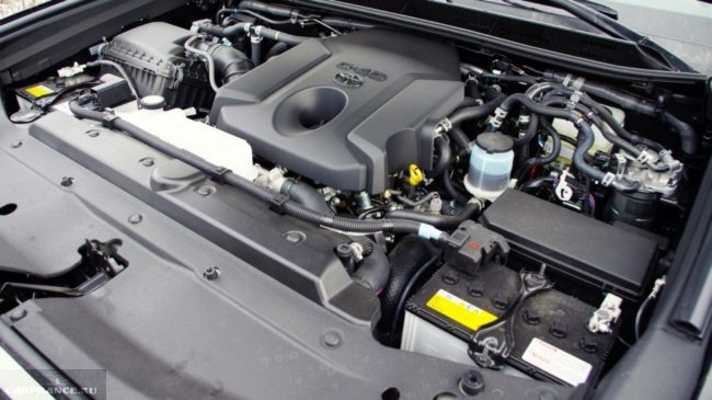 Новый двигатель на дизельном топливе в кроссовере Тойота Прадо 2018 года