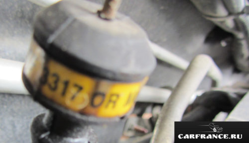 Щуп масла уровня АКПП сверху 3317 СГВ 2007 год выпуска J20A
