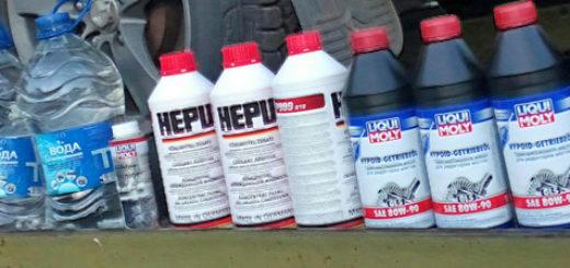 Жидкости для обслуживания автомобиля Сузуки Гранд Витара