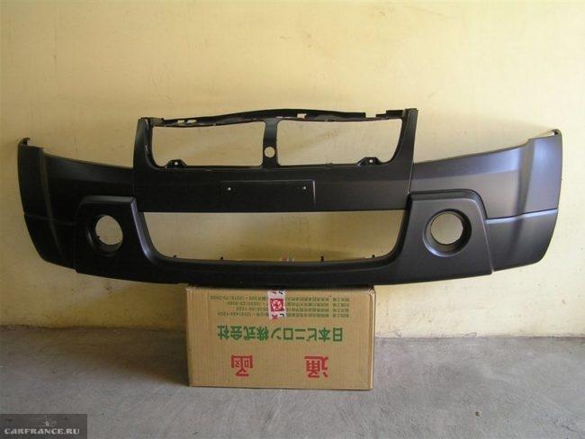Новый бампер рестайлинговой версии для автомобиля Сузуки Гранд Витара