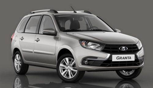 Обновленная модель рестайлинговой Лада Гранта 2018 года выпуска в кузове универсал