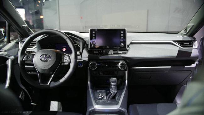 Тойота РАВ4 салон с мультимедией 2018 модельный год