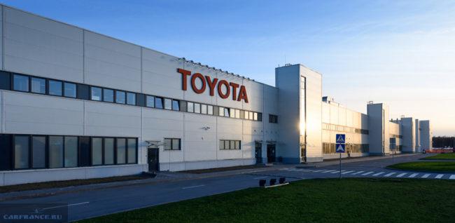 Завод Тойота в Санкт-Петербурге