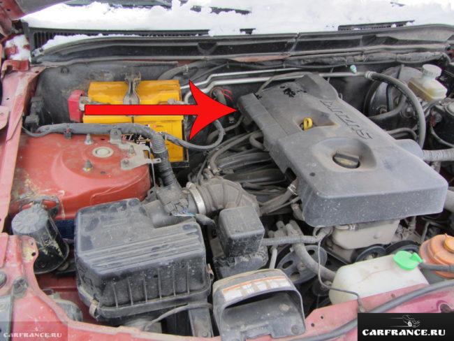 Щуп масла на АКПП Гранд Витара 2006 года выпуска