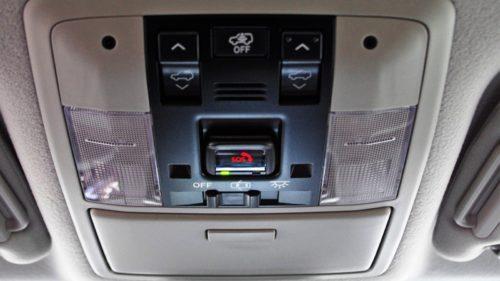 Потолочный блок управления освещением салона в Тойота Прадо 2019 года производства
