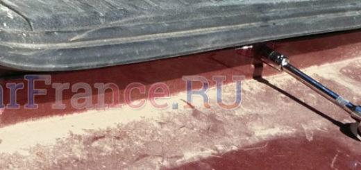 Демонтаж крепления заднего бампера к кузову на Сузуки Гранд Витара