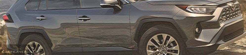 Тойота РАВ 4 2019 модельного года в новом кузове серого цвета
