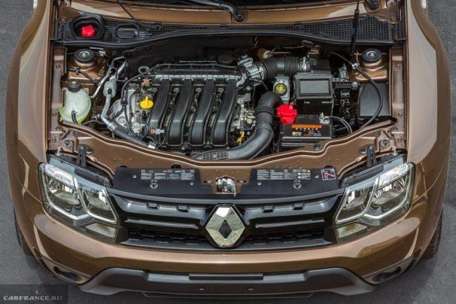 Бензиновый мотор под капотом обновленного Рено Дастер 2019 года выпуска