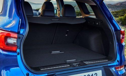Объем багажника в автомобиле Рено Каджар 2019 года производства