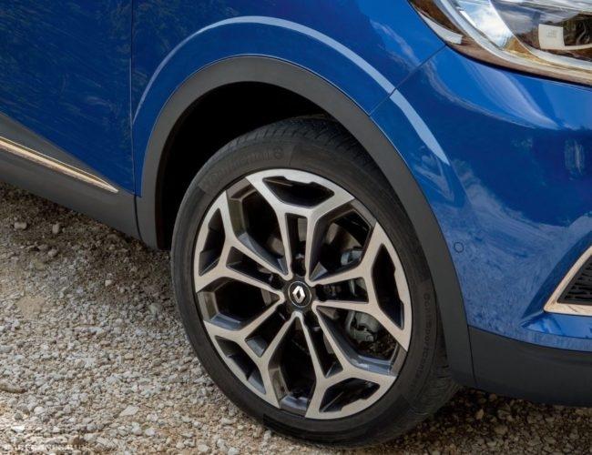 Переднее колесо Рено Каджар 2019 модельного года в кузове iron blue