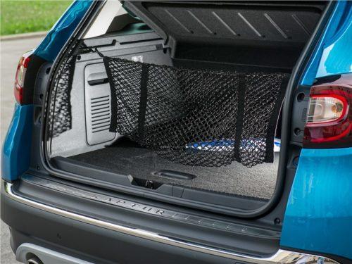 Сетка внутри багажника автомобиля Рено Каптур 2019 года производства
