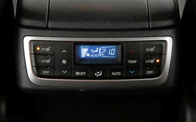 Блок управления климатом для задних пассажиров автомобиля Тойота Хайлендер 2019 года