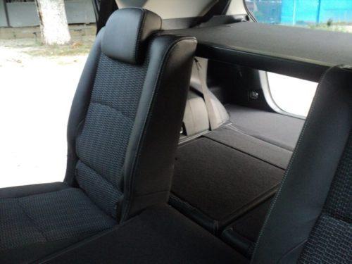Багажник при сложенной спинкой заднего сидения автомобиля Тойота Версо 2019 года
