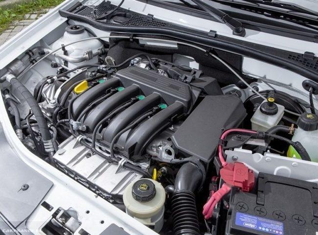 16-клапанный двигатель под капотом обновленного Лада Ларгус кросс 2019 года