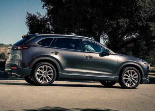 Внешний облик в профиль нового Mazda CX-9 2019 модельного года
