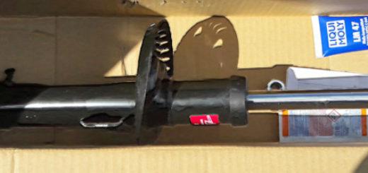Новая стойка амортизатора на Фольксваген Поло в упаковке модель седан