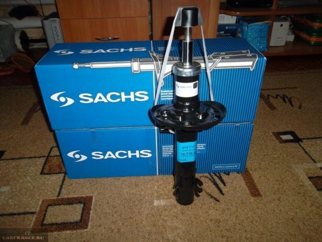 Новая передняя стойка SACHS в синей коробке для Фольксваген Поло седан