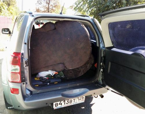 Кресло в багажнике в багажнике Сузуки Гранд Витара