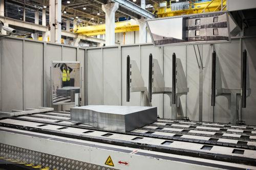 Стопка металла для производства деталей кузова Фольксваген Поло