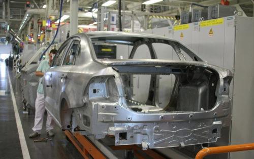 Кузов Фольксваген поло после оцинковки в заводских условиях