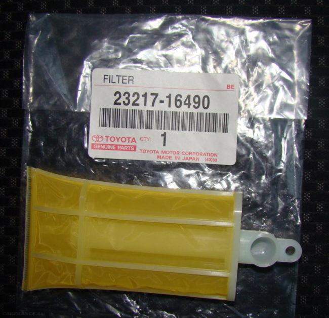 Фильтр-сетка от автомобиля Тойота для замены в бензонасосе седана Митсубиси Лансер 9