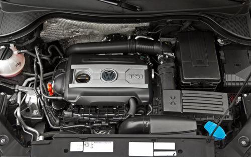 Бензиновый двигатель немецкого автомобиля Фольксваген Тигуан