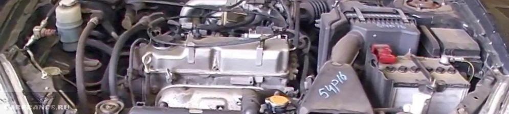 Двигатель Митсубиси Лансер 9 1.6 объём