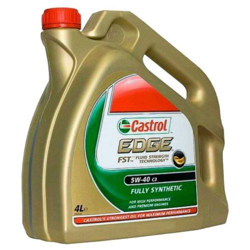 Синтетическое масло Castrol Edge 5W-40 для замены в двигателе Фольксваген Тигуан